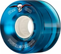 Powell Peralta Clear Cruisers Skateboard Wheels - blue (80a)