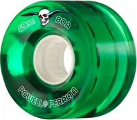 Powell Peralta Clear Cruisers Skateboard Wheels - green (80a)
