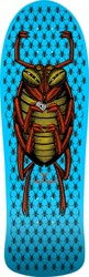 Powell Peralta O.G. Bug 9.85 Skateboard Deck - blue