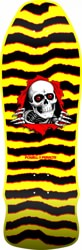 Powell Peralta Ripper 9.75 Geegah Skateboard Deck - yellow