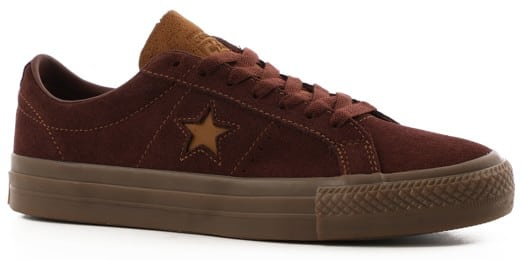 Converse One Star Pro Skate Shoes - backroot brown/ale brown/brown - view large