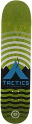 Tactics Base Camp Skateboard Deck - lime