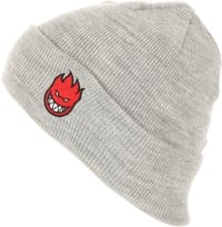 Spitfire Bighead Fill Beanie - heather grey/red