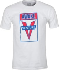 Venture Awake T-Shirt - white/red/blue