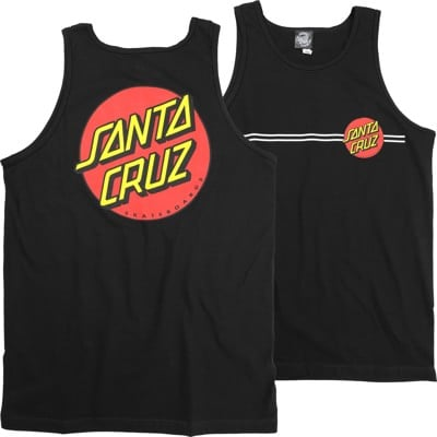 Santa Cruz Classic Dot Tank - black - view large