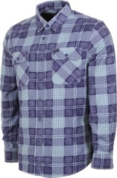 Brixton Bowery LW Flannel Shirt - patriot blue