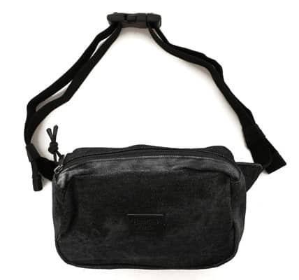 Brixton Stewart Hip Bag - black acid wash - view large