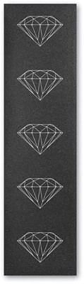 Diamond Supply Co Brilliant Graphic Skateboard Grip Tape - black/white - view large