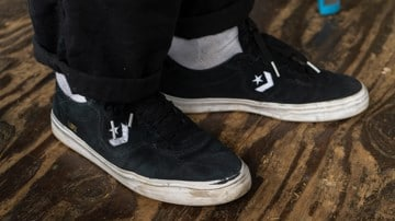 Converse Louie Lopez Pro Skate Shoes Wear Test Review