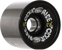 Cloud Ride Cruiser Longboard Wheels - black (78a)