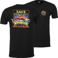 Dark Seas DS X Grundens Save Bristol Bay T-Shirt - black
