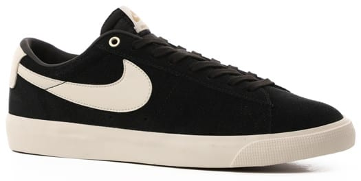 Nike SB Zoom Blazer Low GT Skate Shoes - black/sail - view large