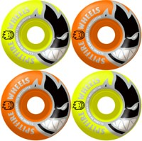 Spitfire Bighead Skateboard Wheels - orange/neon yellow mashups (99d)