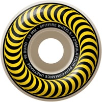 Spitfire Formula Four Classic Skateboard Wheels - white/yellow classic swirl (99d)