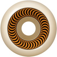 Spitfire OG Classics Skateboard Wheels - white/orange (99a)