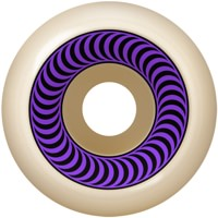 Spitfire OG Classic Skateboard Wheels - white/purple (99a)