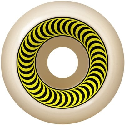 Spitfire OG Classics Skateboard Wheels - white/yellow (99a) - view large