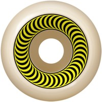 Spitfire OG Classic Skateboard Wheels - white/yellow (99a)