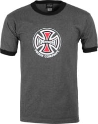 Independent Truck Co. T-Shirt - charcoal heather/black ringer
