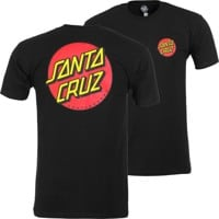 Santa Cruz Classic Dot Chest T-Shirt - black