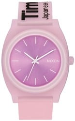 Nixon Time Teller P Watch - invisi-pink