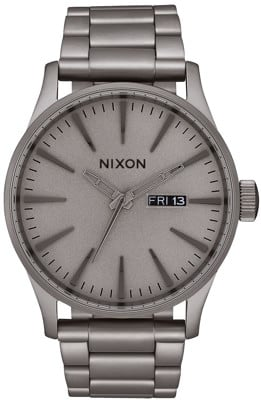 Nixon Sentry SS Watch - dark steel - view large