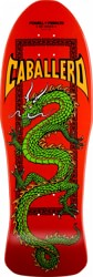Powell Peralta Caballero Chinese Dragon 10.0 Skateboard Deck - red
