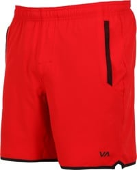 RVCA Yogger Stretch Shorts - red