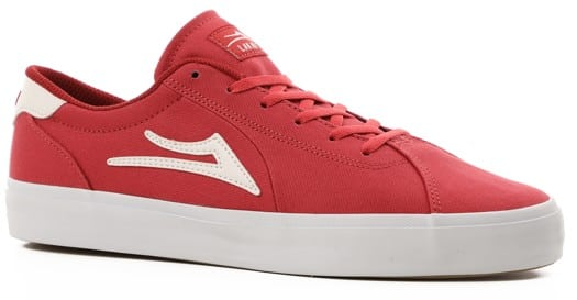 Lakai Flaco II Skate Shoes - red canvas - view large