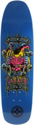 Black Label Emergency Lucero X2 8.88 Skateboard Deck - blue dip