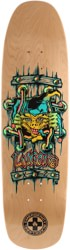 Black Label Emergency Lucero X2 8.88 Skateboard Deck - natural 2