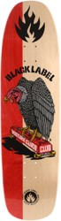 Black Label Vulture Curb Club 8.88 Skateboard Deck - red split