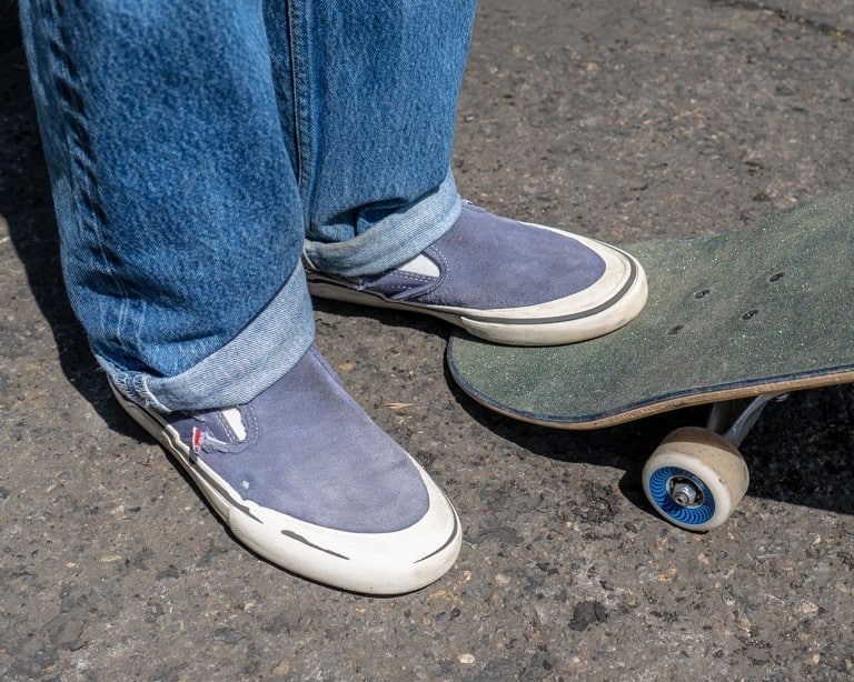 Vans Slip-On Pro Skate Shoes Wear Test