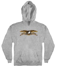 Anti-Hero Kids Eagle Hoodie - heather grey
