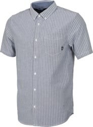 Vans Houser S/S Shirt - dress blue micro stripe
