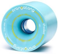Orangatang 4President Carving/Race Longboard Wheels - blue (77a)