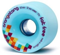 Orangatang Fat Free Freeride Longboard Wheels - blue (77a)