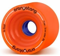 Orangatang In Heat Carving/Race Longboard Wheels - orange (80a)