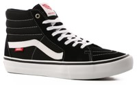 Vans Sk8-Hi Pro Skate Shoes - black/white (UltraCush HD)