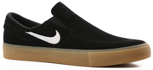 Nike SB Zoom Stefan Janoski RM Slip-On Shoes - black/white-black-gum light brown - view large