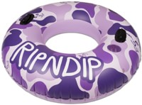 RIPNDIP Toob Pool Float - purple camo