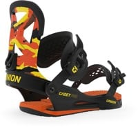 Union Cadet Pro Kids Snowboard Bindings 2020 - orange camo