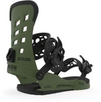 Union STR Snowboard Bindings 2020 - matte green