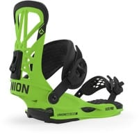 Union Flite Pro Snowboard Bindings 2020 - acid green