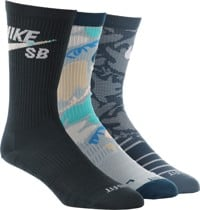 Nike SB Everyday LTWT 3-Pack Sock - multi-color
