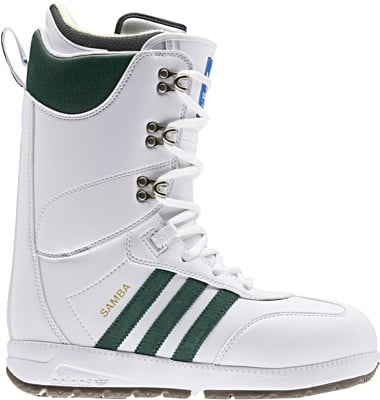Adidas Samba ADV Snowboard Boots 2020 - ftwr white/collegiate green/gum - view large