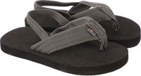 Rainbow Sandals Kids Grombow Sandals - dark grey w/ back-strap
