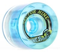 Sector 9 72mm Nineball Longboard Wheels - smoke (75a)