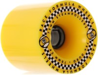 Sector 9 Race Formula Steamroller 73mm Longboard Wheels - yellow (78a)