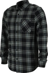 Volcom Caden Plaid Flannel Shirt - navy
